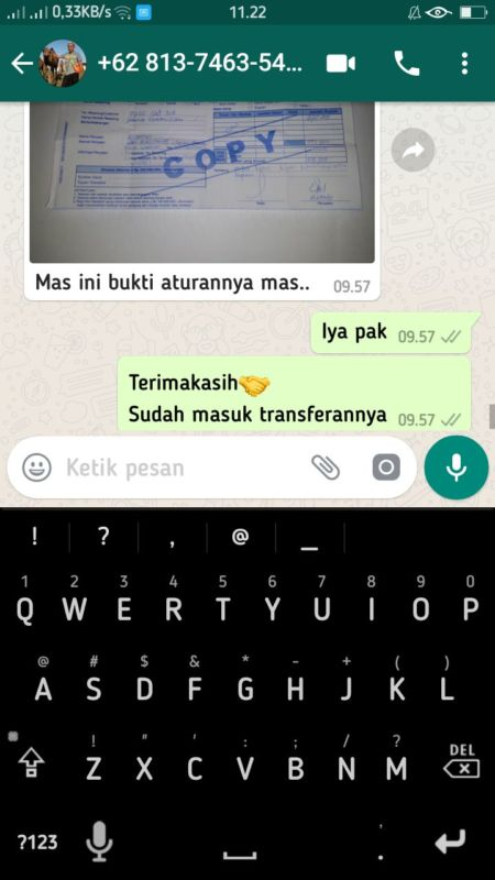 testimoni Pelanggan tongtol